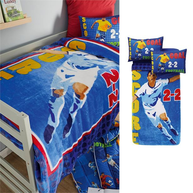 Football 1-ply Printed Blanket offers at R 399