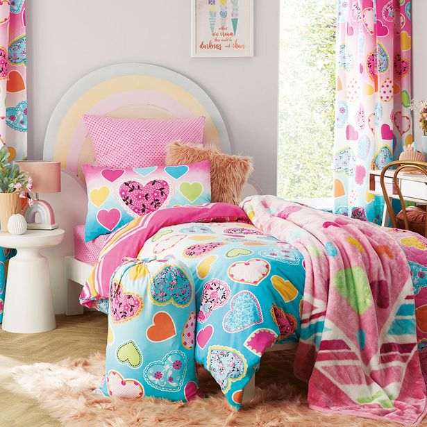 Hearts 3pc Comforter Set offers at R 699