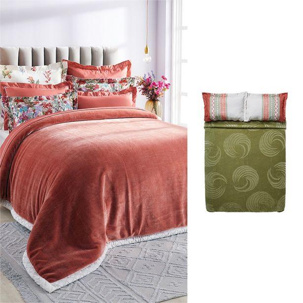 Nadine 1 Ply 2kg Embossed Mink Blanket offers at R 699