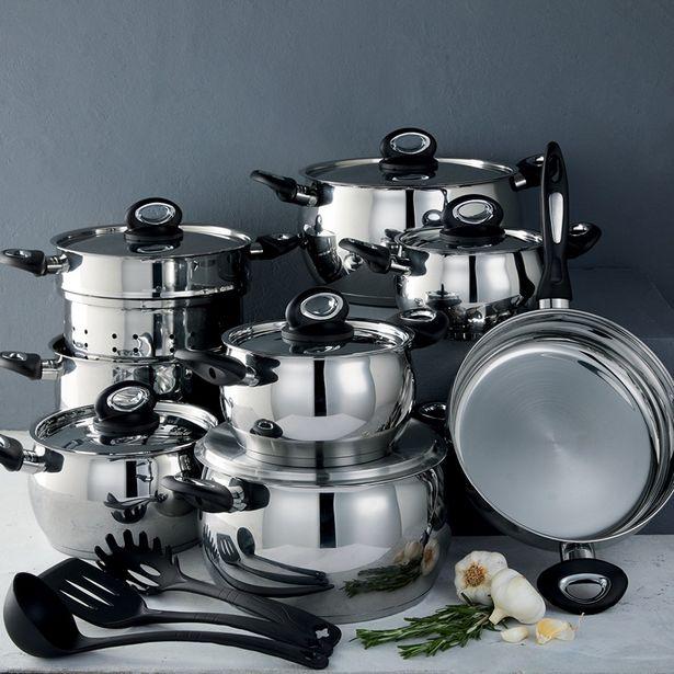 Jupiter 11pc Deluxe Cookware Set offer at R 1699