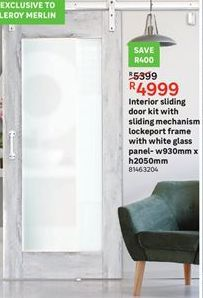 Interior sliding doors offer at R 4999