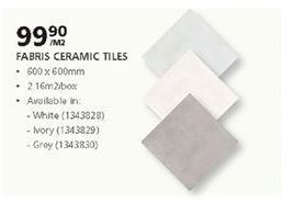Tiles offer at R 99,9
