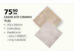 Tiles offer at R 75,9