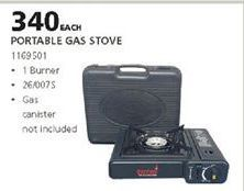 Gas stove offer at R 340