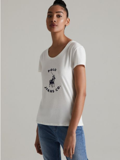 Distressed print tee offers at R 279