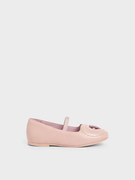 Girls' Sequin Heart Ballerina Flats offers at R 19