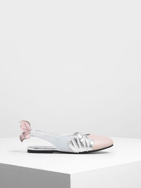 Girls' Seashell Slingback Shoes offers at R 23