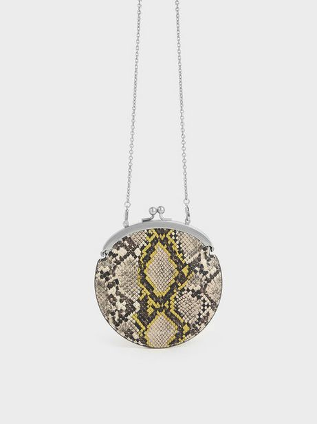 Snake Print Coin Pouch offers at R 26