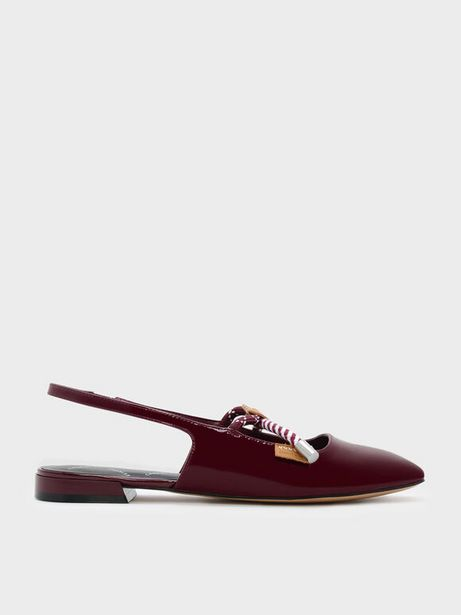 Rope Detail Slingback Flats offers at R 26