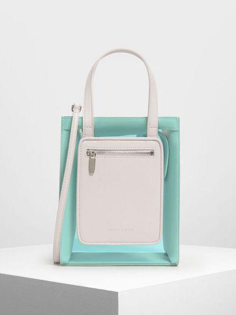 Zipper Compartment Transparent Bag offers at R 23