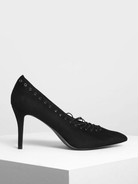 Lacing Detail Court Shoes offer at R 19