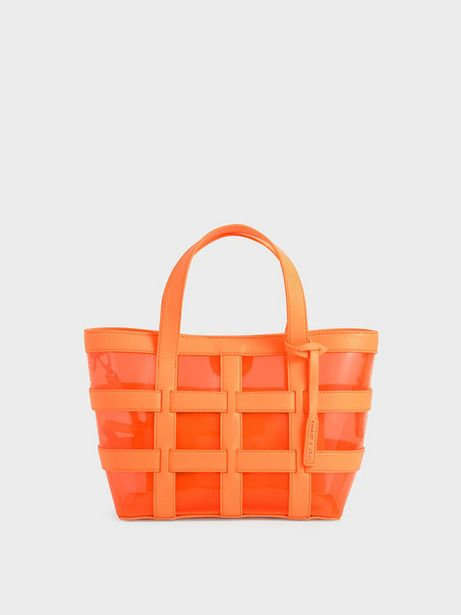 Caged See-Through Tote Bag offer at R 33