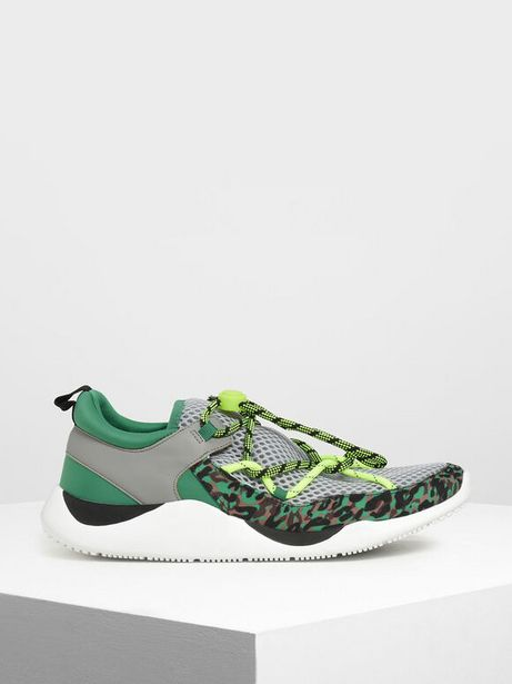 Drawstring Mesh Sneakers offer at R 29