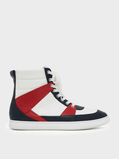 Pointed High Cut Sneakers offer at R 29
