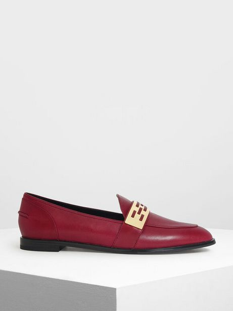 Metallic Accent Loafers offer at R 39