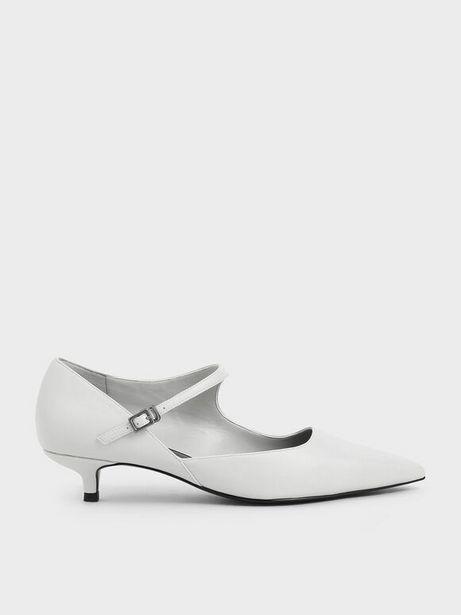 Asymmetric Mary Jane Kitten Heels offers at R 29