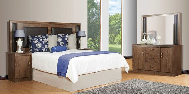 Tessa 2 Piece Bedroom Suite, Brown offers at R 5999