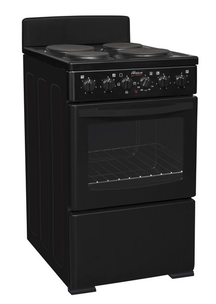 Univa 4 Plate Electric Stove, Black U405B offers at R 3199