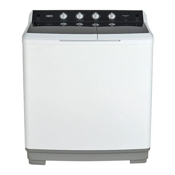 Defy 18kg Twin Tub Washing Machine, White DTT180 offers at R 4699