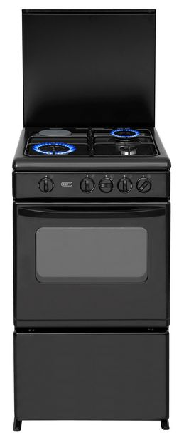 Defy 4 Plate Gas Electric Stove DGS178 Black offers at R 4199