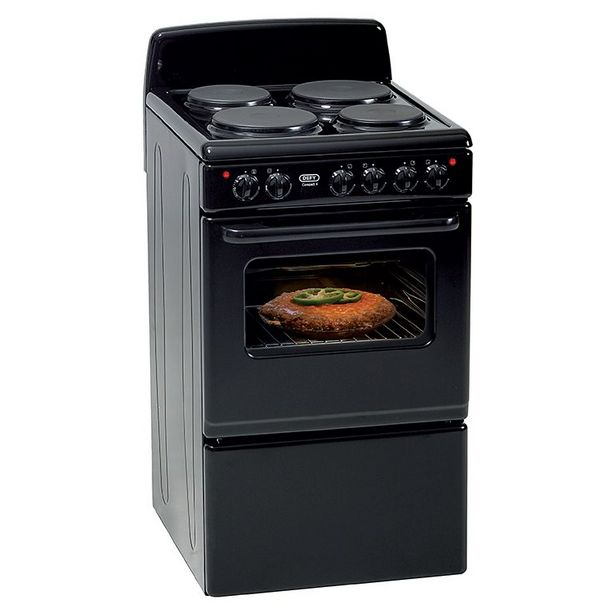 Defy 4 Plate Compact Stove, Black DSS514 offers at R 3499