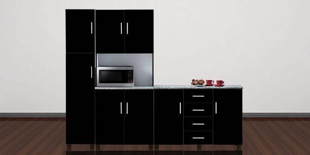 Zodiac 3 Piece Kitchen Scheme, Black offers at R 8499