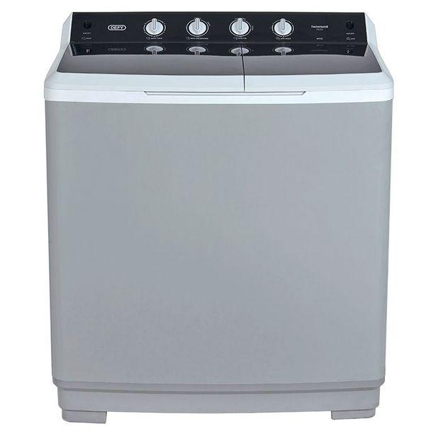 Defy 15kg Twin Tub Washing Machine Metallic DTT151 offers at R 3899