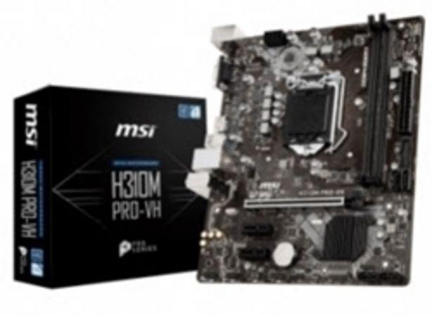 MSI H310M PRO-VH LGA 1151 MainBoard offers at R 1749