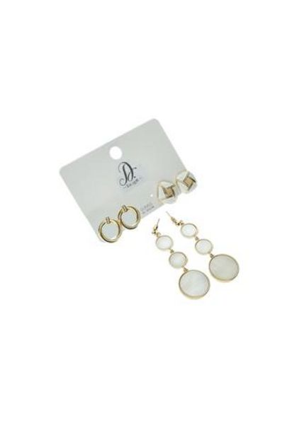 Chelsea 3 Pack Earrings offer at R 50