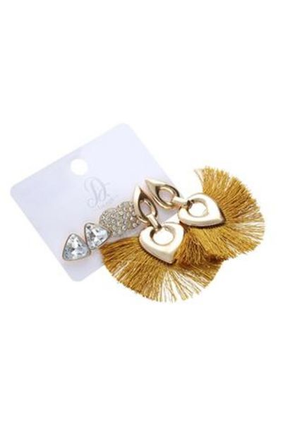 Madison Statement 3 Pack Earrings offers at R 30