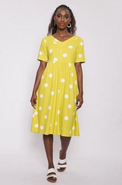Elaine Linen Like Dress offers at R 150
