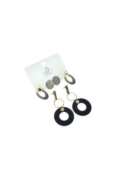 Cellini Statement 3 Pack Earrings offer at R 50
