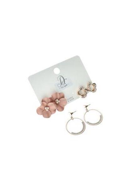 Loren 3 Pack Earrings offer at R 50