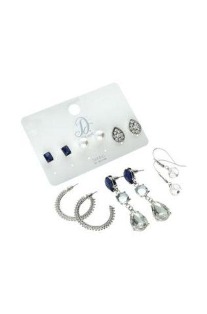 Tatum Sparkle 6 Pack Earrings offer at R 70