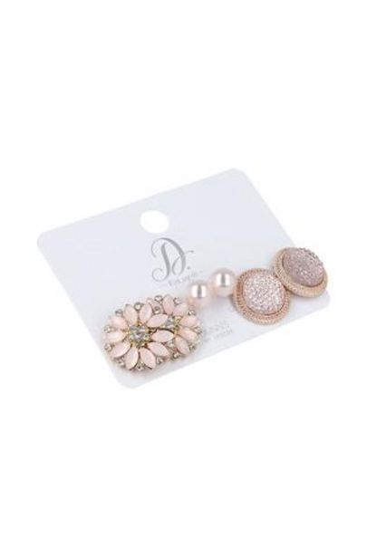 Claudana Stud 3 Pack Earrings offers at R 20