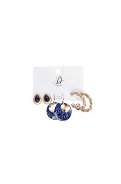 Tara 3 Pack Earrings offers at R 50