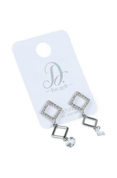 Shelly Drop Diamante Earrings offer at R 30