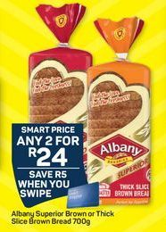 Albany Bread offer at R 24