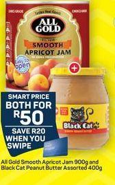 Black Cat Peanut Butter  offer at