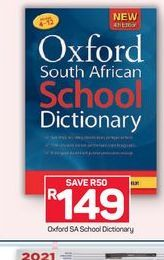 Oxford Primary Dictionary offer at R 149