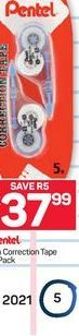 Pentel Correction Tape offer at R 37,99