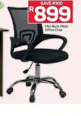 Mid-Back Office Chair offer at R 899