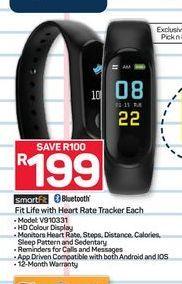 SmartFit Activity Tracker offer at R 199