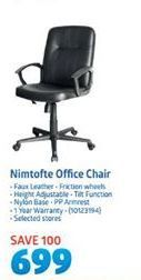 Nimotofte Office Chair offer at R 699