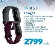 Fitbit Charge 4 offer at R 2799
