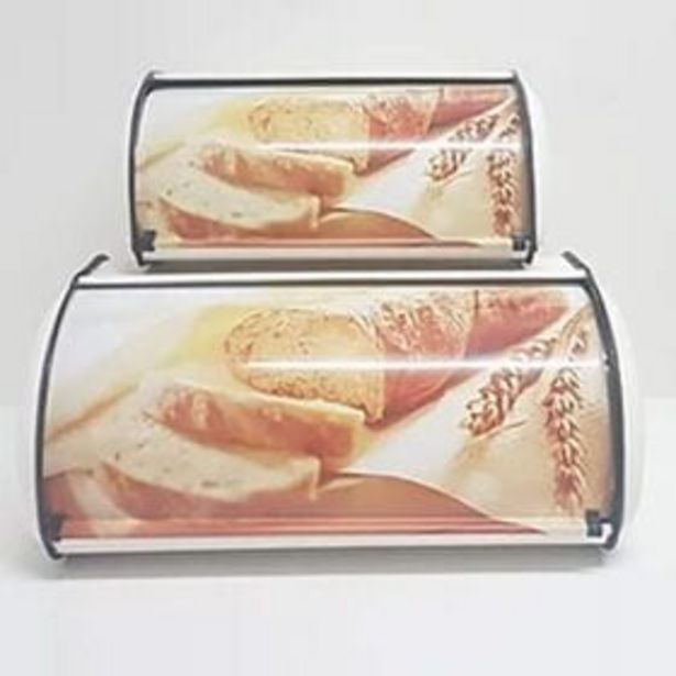 BD35 BREADBIN 2PC WHITE PICT CH036 offers at R 369