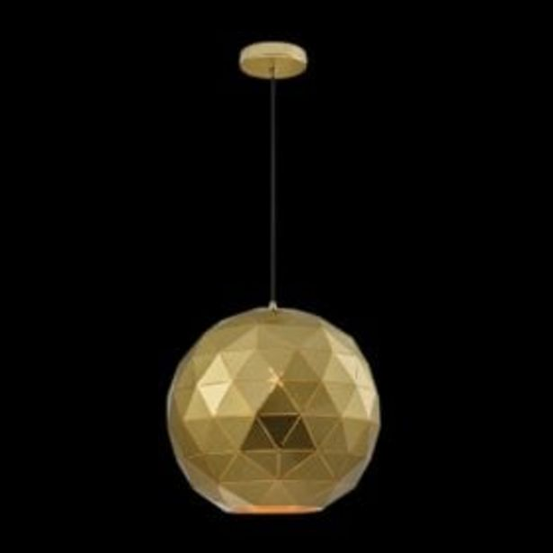 LASER CUT METAL BALL PENDANT G-KLCH-820-SG offer at R 999