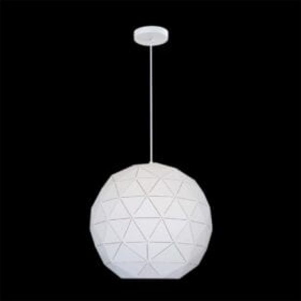 METAL BALL PENDANT G-KLCH-820-L/WH offer at R 710