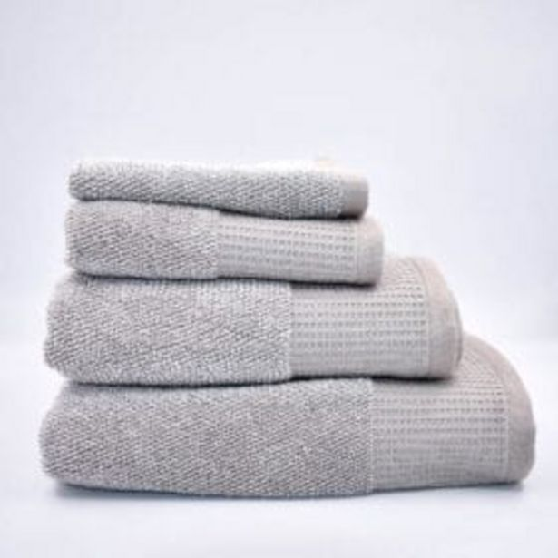 OATMEAL PLUSH TOWEL offer at R 35