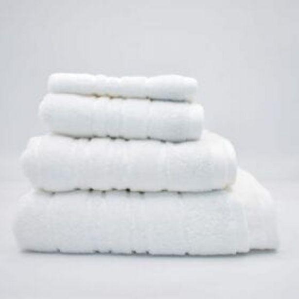 SELENE WHITE TOWEL offer at R 45